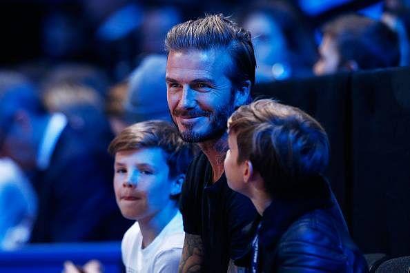 David Beckham shows that he is a superstar with a golden heart