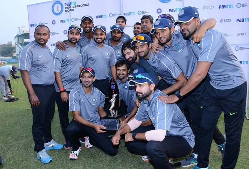 5 best performers from the Deodhar Trophy
