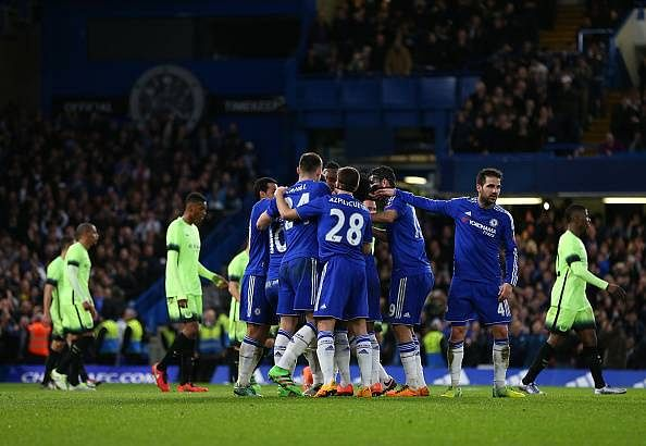 Image result for chelsea 5-1 city fa cup 2016