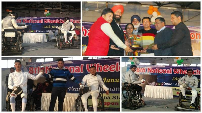 Report: 8th National Wheelchair Fencing Championship, Karnal