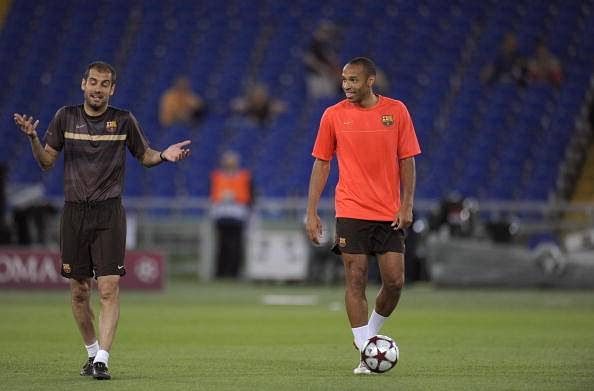 Thierry Henry believes Pep Guardiola can guide Manchester City to the Champions League