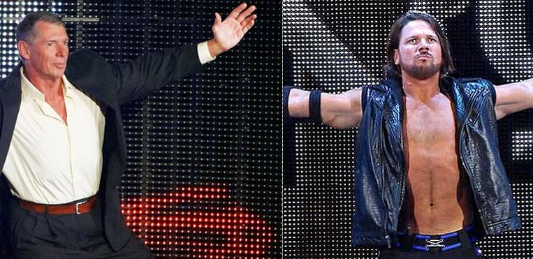 Vince McMahon reportedly unhappy with AJ Styles