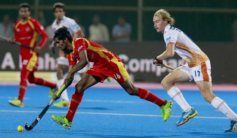 Ranchi Rays emerge victorious against Kalinga Lancers in the HIL
