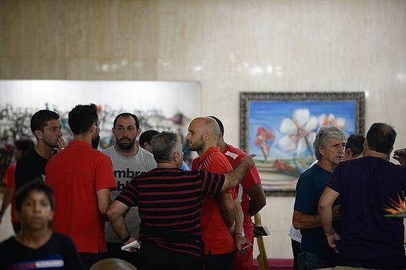 Six injured as Argentine football club Huracan's bus overturns in Venezuela