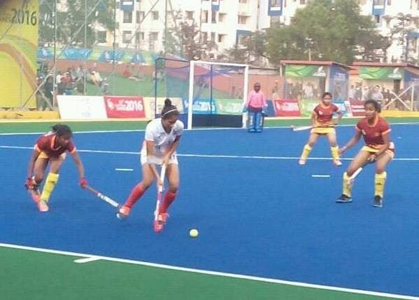 India continue their winning run; defeat Sri Lanka 12-1 in women's hockey at SAG