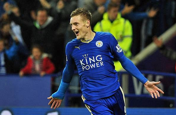 Leicester City extend Jamie Vardy's contract until end of 2018/19 season