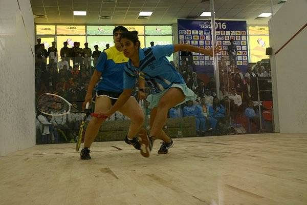 India win Gold in men's and women's team squash in SAG 2016