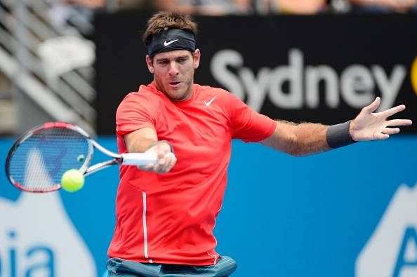 Tennis player Juan Martin del Potro to be back in action this month