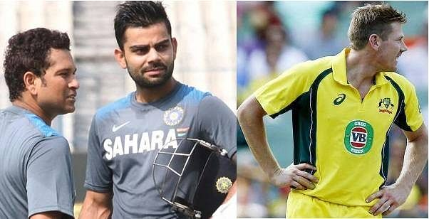 Virat Kohli opens up about relationship with Sachin Tendulkar, James Faulkner