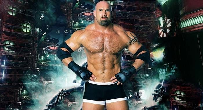 Is this WWE Superstar imitating Goldberg?