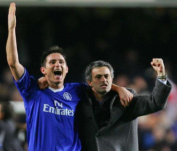 Jose Mourinho says Frank Lampard was 'the best player' in the Premier League