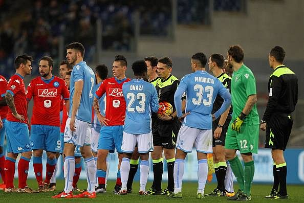 Video: Racist chants from fans in Serie A stops Lazio vs Napoli match