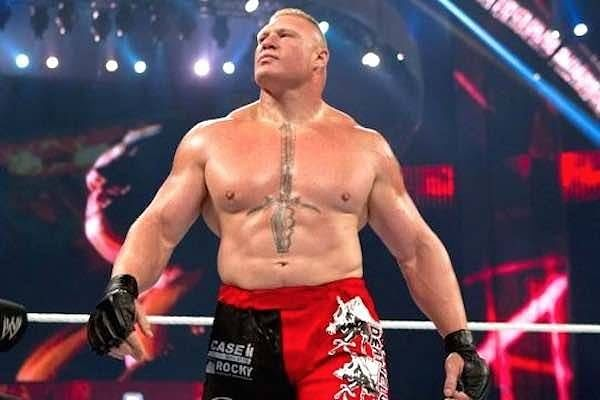 Who is Brock Lesnar taking to Suplex City on WWE RAW this week?