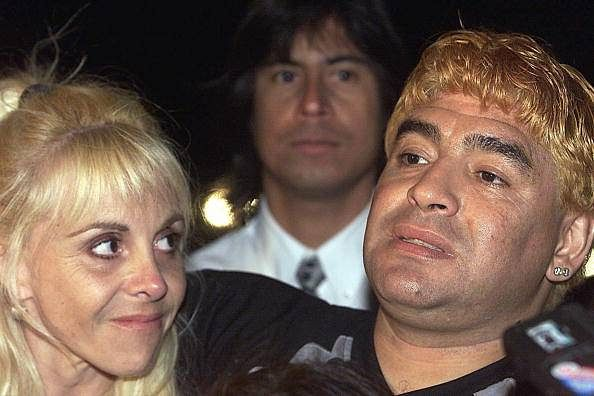 Diego Maradona accuses ex-wife of plundering assets