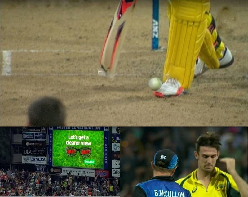 Mitchell Marsh's controversial dismissal: Hamilton crowd boos Steven Smith