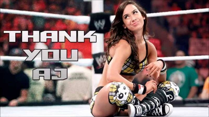 Why did AJ Lee retire from the WWE?