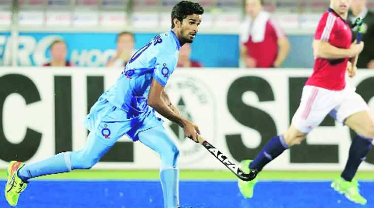 Want to improve my scoring skills :   Mohd Amir Khan, represents the Ranchi Rays in the HIL