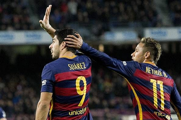 Neymar will not leave Barcelona, says Luis Suarez