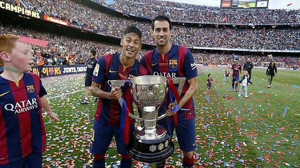 Manchester City reportedly ready to bid £150m for Barcelona duo Neymar and Sergio Busquets