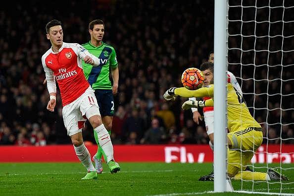 Arsenal 0-0 Southampton: Player Ratings