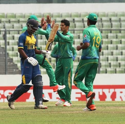 Pakistan tops Group B after beating Sri Lanka in the Under 19 Cricket World Cup 2016