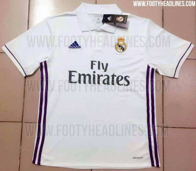 Top 7 European teams 2016/17 kits that have been reportedly leaked