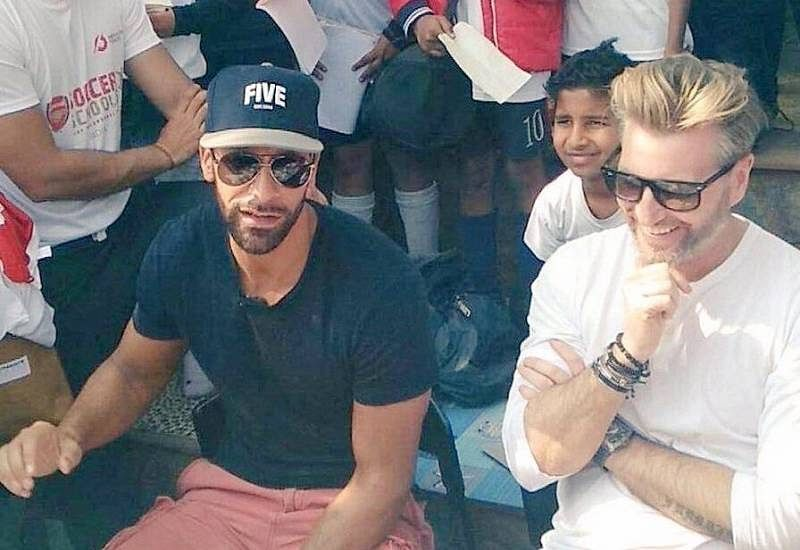 Interview with Rio Ferdinand and Robbie Savage: Indian kids need a hero to look up to in football