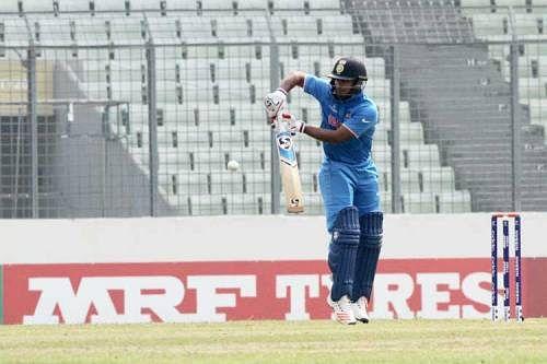 India U-19 juggernaut rolls on to World Cup semi-final, Namibia crushed by 197 runs