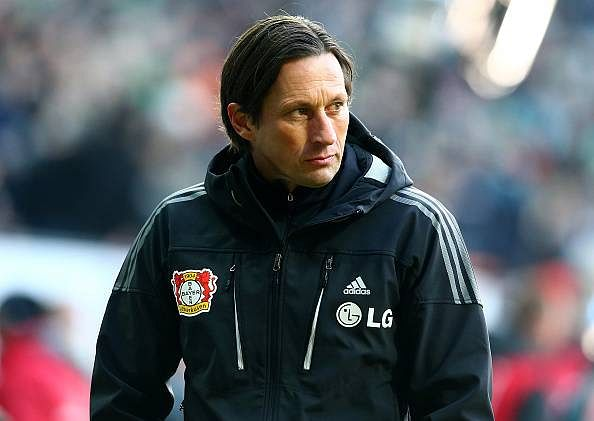 Bundesliga game suspended after Bayer Leverkusen boss refuses to be sent off