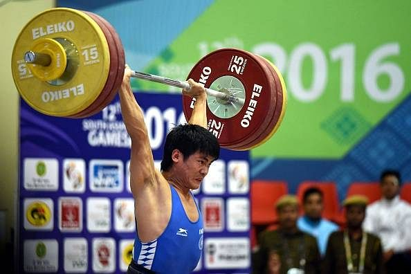 Sambo Lapung awarded Rs.10 lakh for winning South Asian Games gold