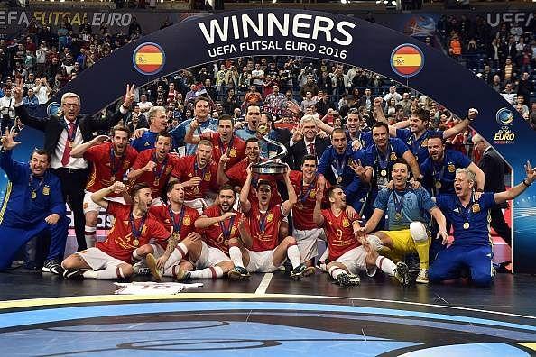 UEFA Futsal Euro: Spain defeat Russia to win the tournament