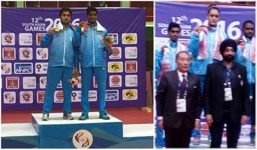 2016 South Asian Games: India round-off yet another day with a dominating show