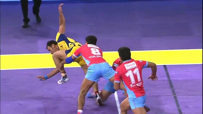 U Mumba win Maharashtra derby as Telugu Titans edge out Jaipur Pink Panthers in buzzer raid