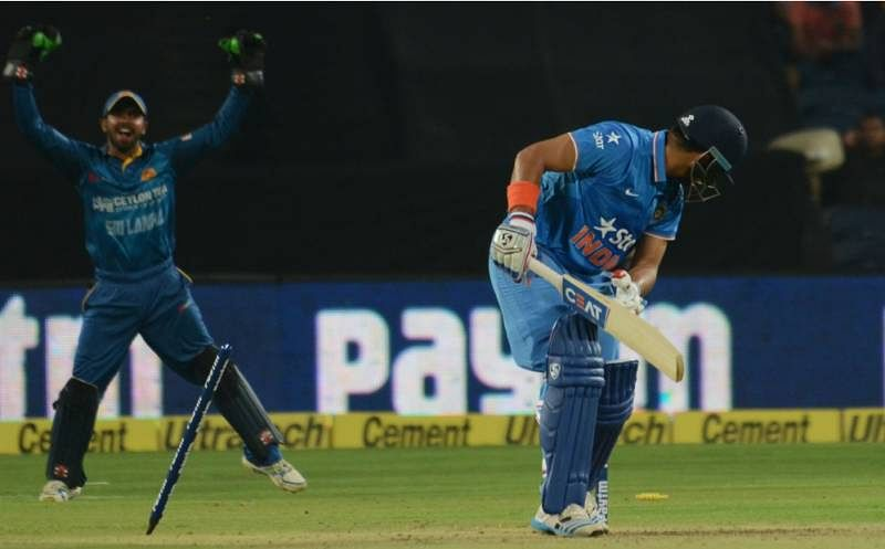 Stats: 1st T20I - Sri Lankan pacers shine as Yuvraj Singh's unique love for sixes continue