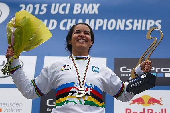 Venezuelan BMX Champion Stefany Hernandez aims for Olympic Gold