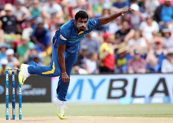 Thisara Perera becomes only the second cricketer after Brett Lee to take hat-trick in both ODIs and T20Is