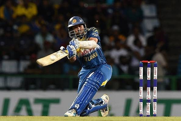 Dilshan ruled out of the first T20 against India