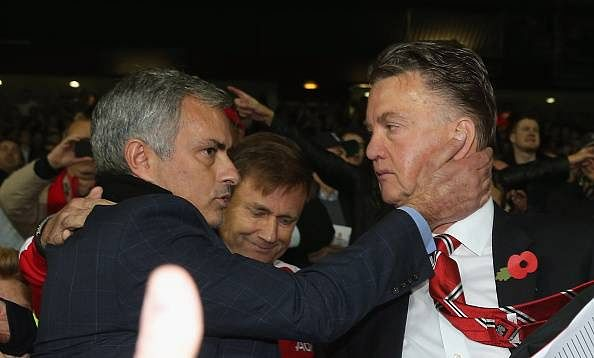 Louis van Gaal doesn't expects Jose Mourinho to give him a call amidst 'Mourinho to United' rumours