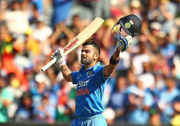 Virat Kohli claims the No.1 spot in ICC T20I batsmen rankings