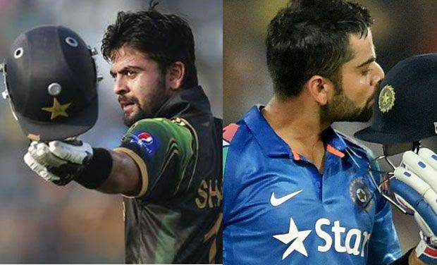 Ahmed Shehzad gets trolled by commentators for his similarities and dissimilarities with Virat Kohli