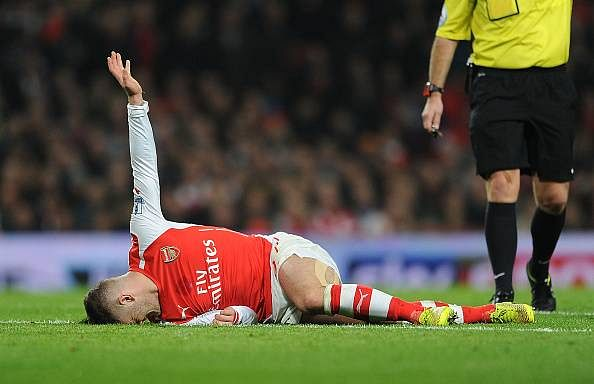 Jack Wilshere - Arsenal - 5 football superstars whose injuries are hindering their progress