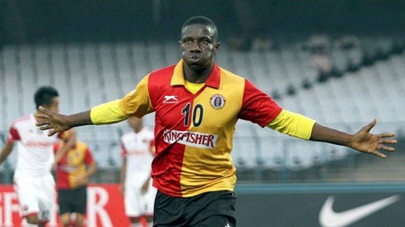 East Bengal go on top of I-League courtesy a hat-trick by Ranti Martins