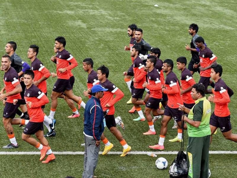 India U-23 football team enters the semi-finals of the 12th South Asian Games