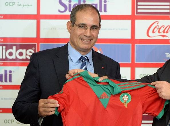 Morocco sack football team coach Badou Zaki