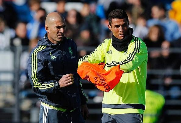 Real Madrid manager Zinedine Zidane reveals admiration for star man Cristiano Ronaldo