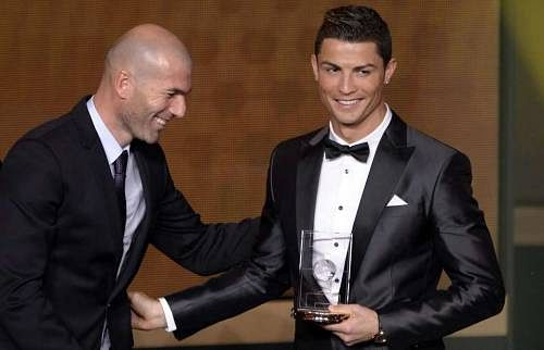 Real Madrid manager Zinedine Zidane believes that Cristiano Ronaldo is better than Lionel Messi