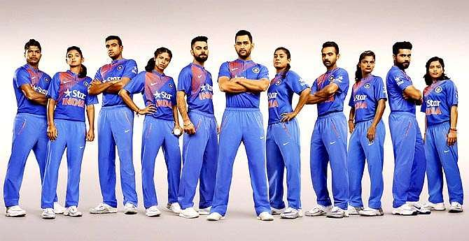 The evolution of the Indian Cricket Team jersey in the past 23 years ...