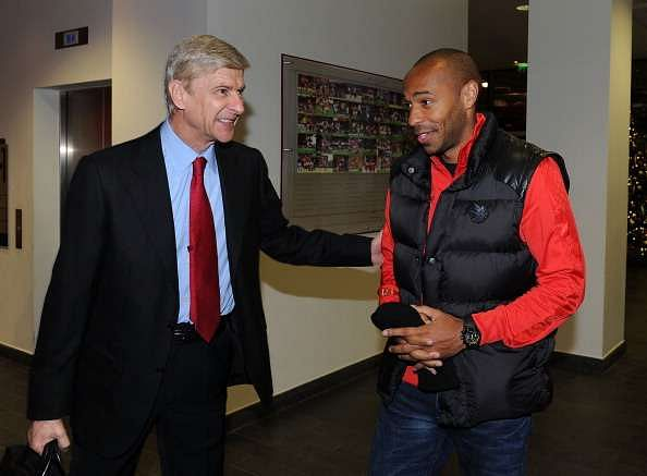 Wenger lambasts Henry - 'He sits in the best seats so cannot speak for Arsenal fans'