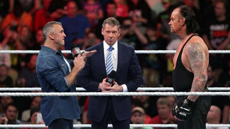 Resultado de imagem para the undertaker shane mcmahon feud wrestlemania