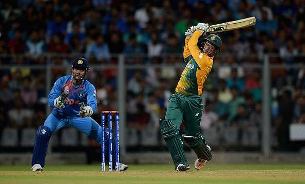 ICC World T20 Warmups: South Africa withstand Dhawan's heroics to clinch a tense win